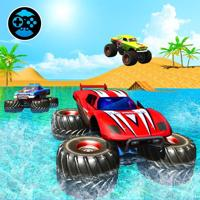 Monster Truck Water Surfing
